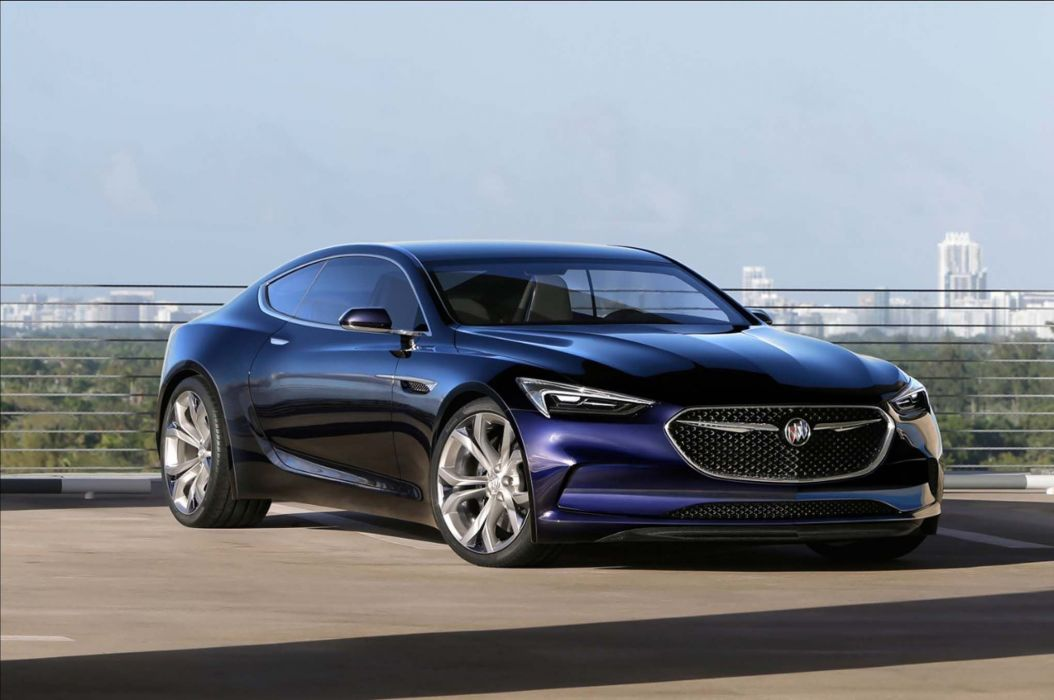 2016 Buick Avista V-8 Grand National muscle wallpaper