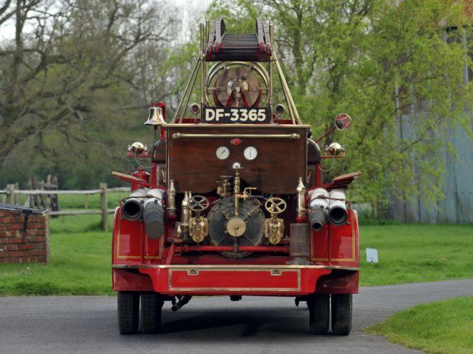 1926 Morris Commercial Fire Engine firetruck emergency vintage semi tractor wallpaper
