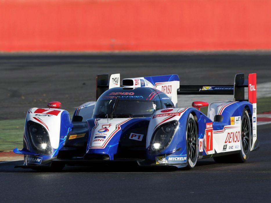 2014 Toyota TS040 Hybrid Le-Mans race racing lemans wallpaper