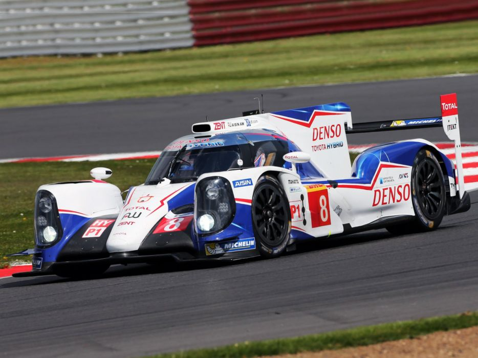 2014 Toyota TS040 Hybrid Le-Mans race racing lemans wallpaper