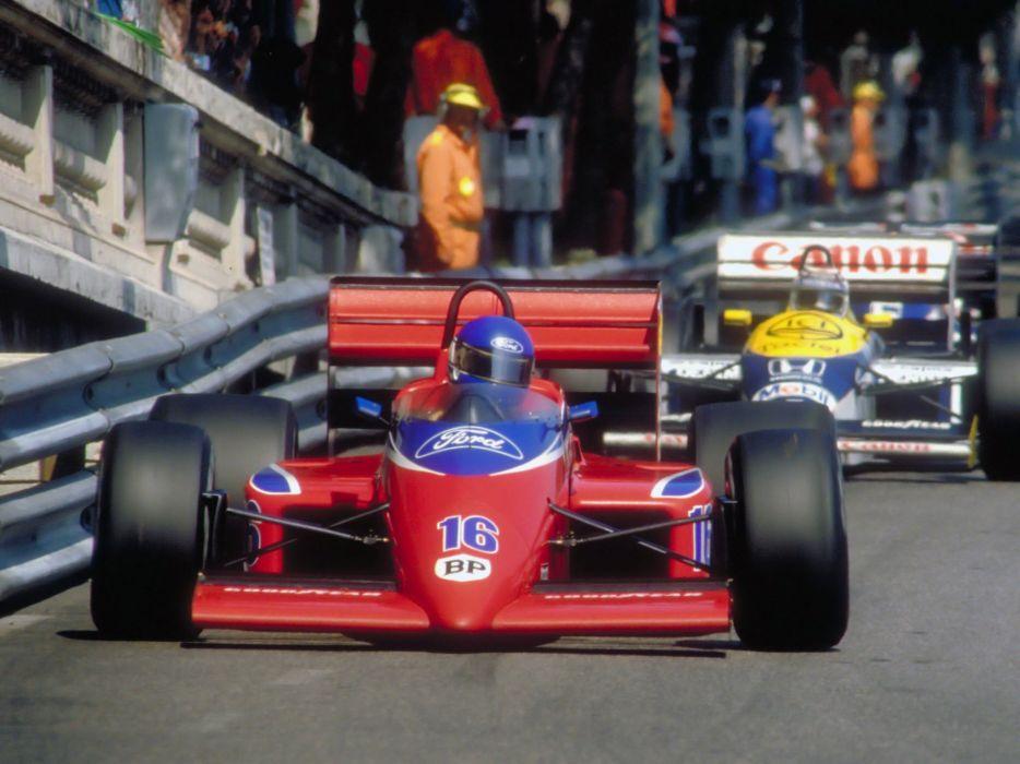 1986 Lola Beatrice THL2 F-1 formula race racing wallpaper