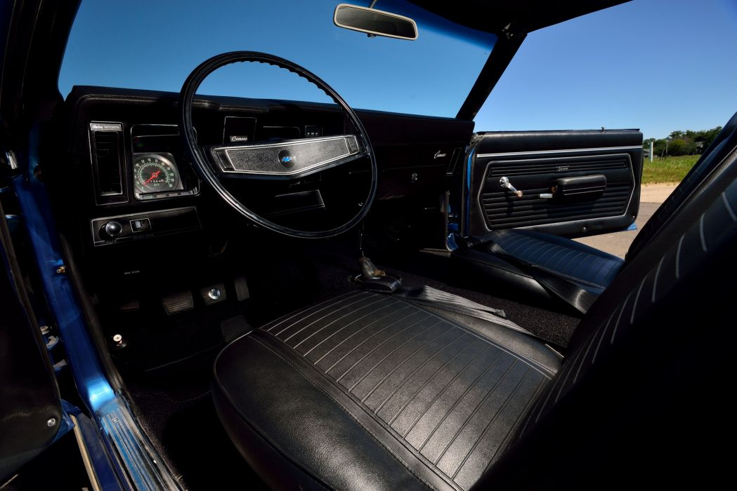 1969 Chevrolet Camaro ZL-1 COPO Dusk Blue muscle classic wallpaper