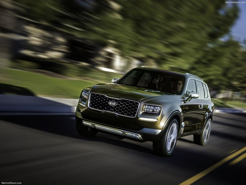 Kia Telluride Concept cars 2016 wallpaper