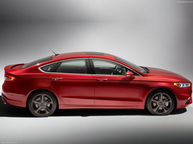 Ford Fusion V6 Sport cars 2016 wallpaper