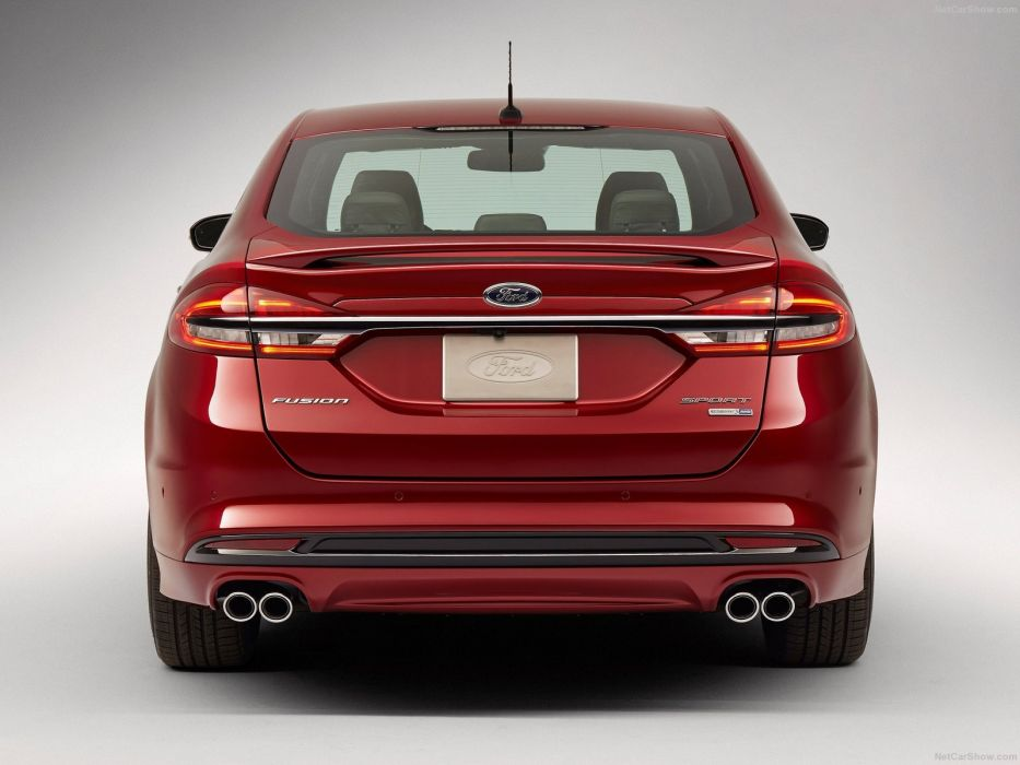 Ford Fusion V6 Sport cars 2016 wallpaper