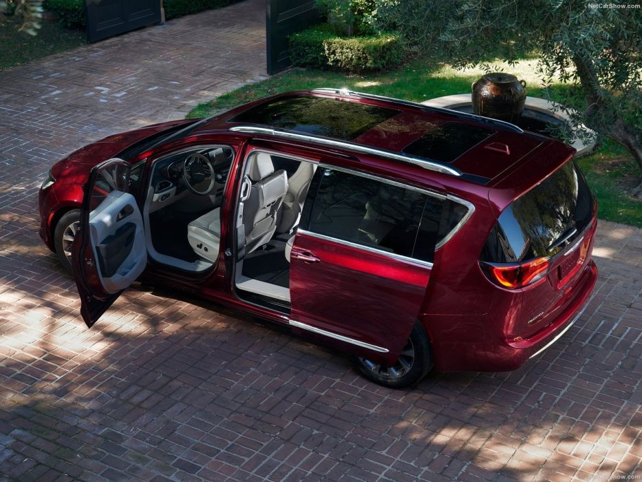 Chrysler Pacifica cars 2016 wallpaper