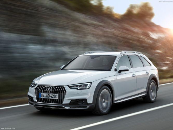Audi A4 allroad quattro wagon cars 2016 wallpaper
