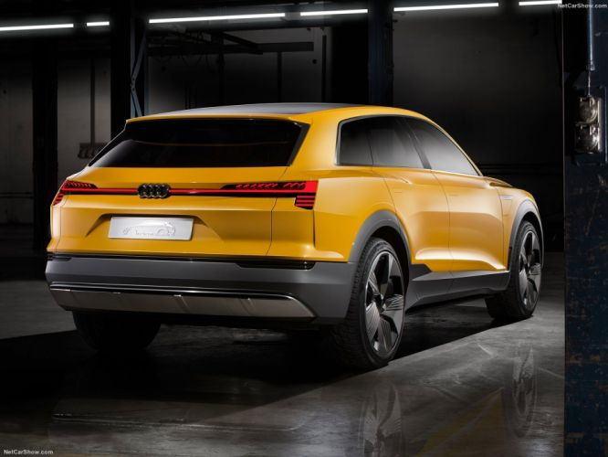 Audi h-tron quattro Concept wagon hydrogen cars 2016 wallpaper