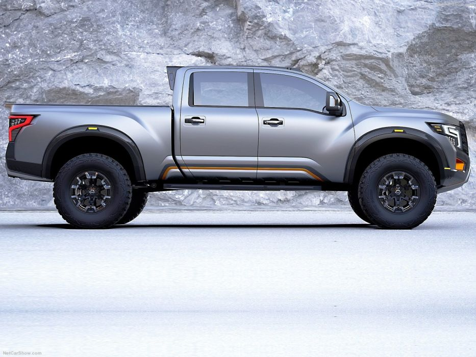 Nissan Titan Warrior Concept pickup truck cars 2016 wallpaper