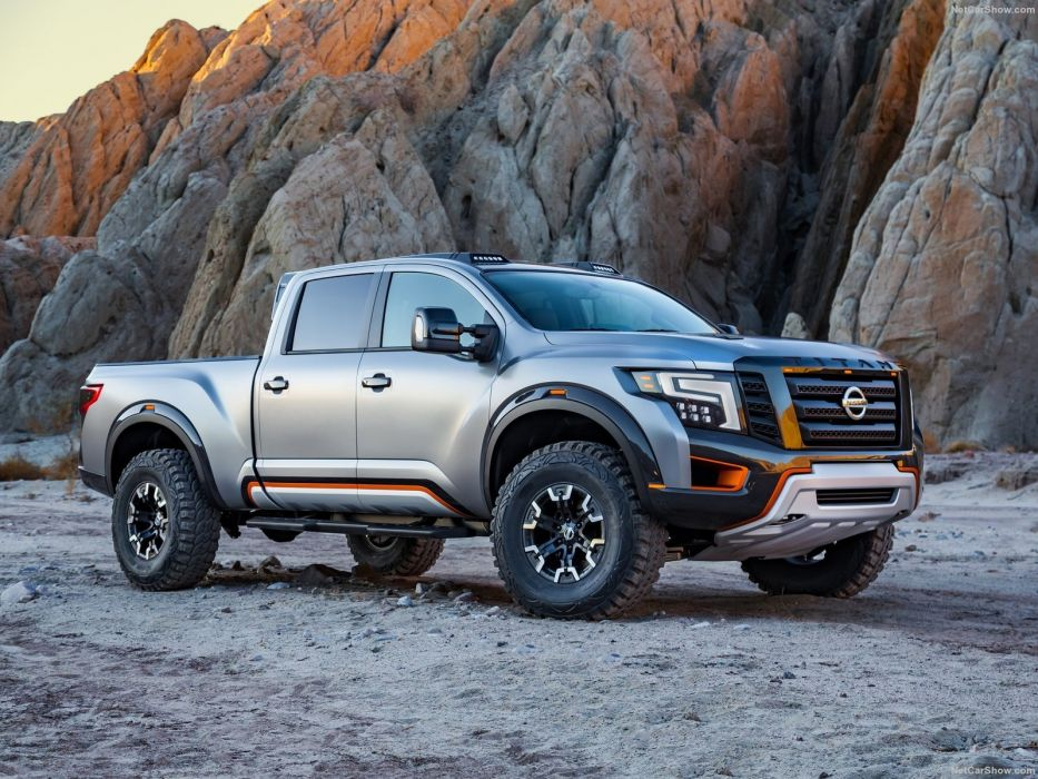 Nissan Titan Warrior Concept pickup truck cars 2016 wallpaper