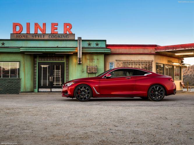Infiniti Q60 coupe cars 2016 wallpaper