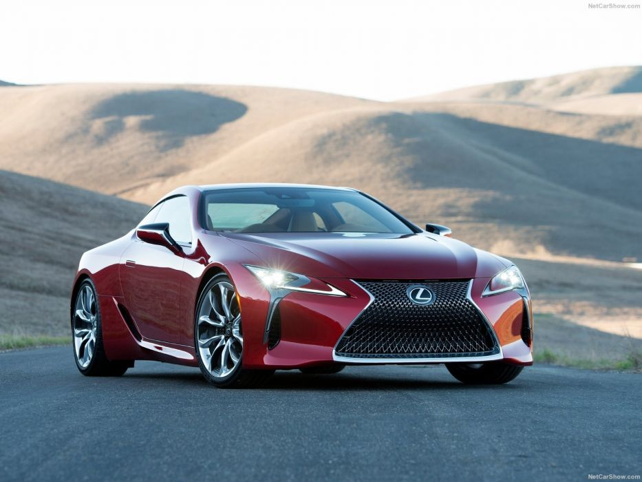 Lexus LC 500 coupe cars 2016 wallpaper