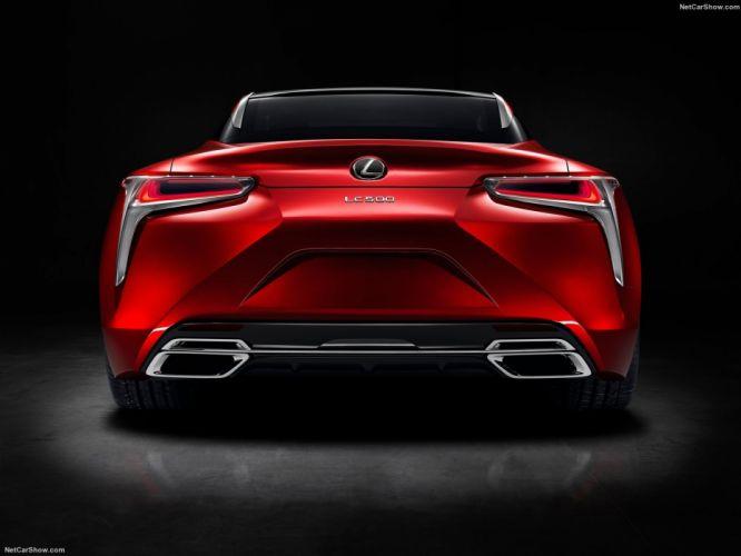Lexus LC 500 coupe cars 2016 wallpaper