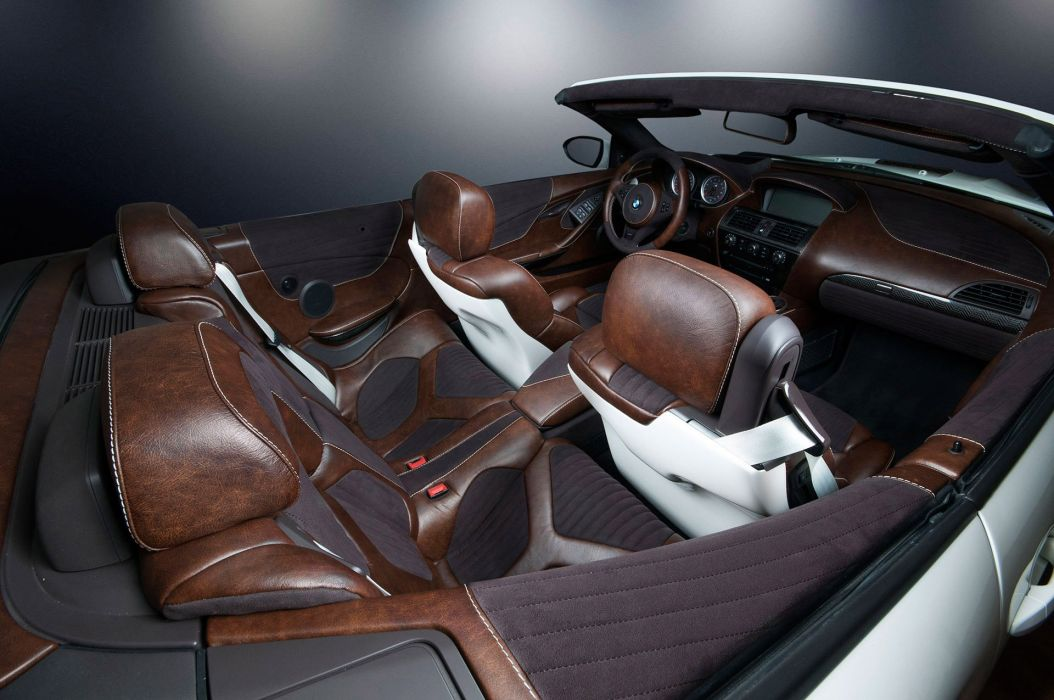2014 Vilner BMW M-6 Cabrio Stormtrooper E64 star wars force awakens tuning wallpaper