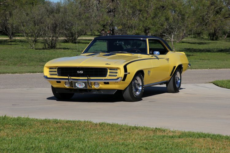 1969 Chevrolet Camaro R-S S-S 396 Sport Coupe 12437 muscle classic wallpaper