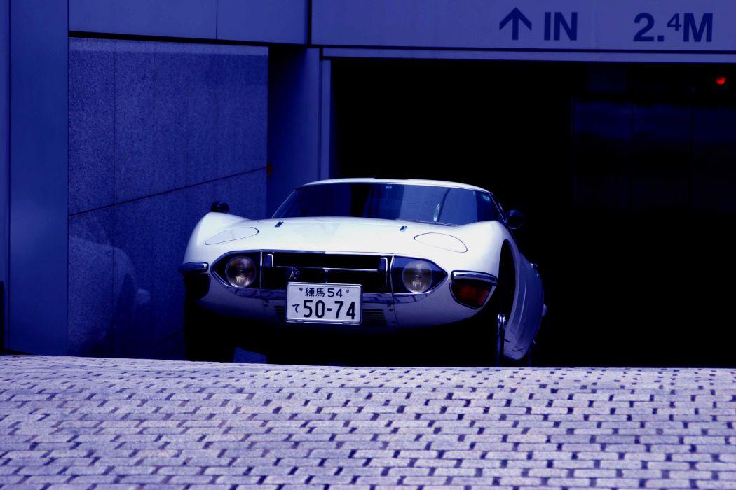 1969-70 Toyota 2000GT JP-spec MF10 supercar classic wallpaper