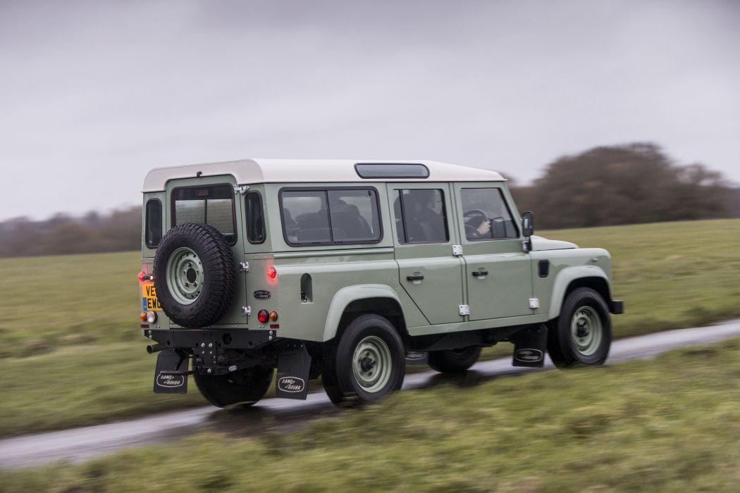 2015 Land Rover Defender 110 Heritage UK-spec suv awd 4x4 wallpaper