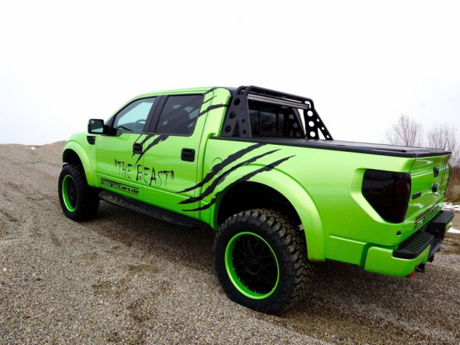 2014 Geiger Ford F-150 SVT Raptor SuperCrew Beast pickup 4x4 tuning muscle wallpaper