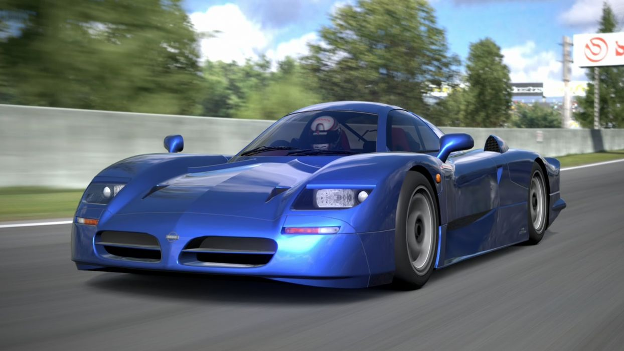 Nissan R390 GT1 race racing lemans le-mans supercar wallpaper