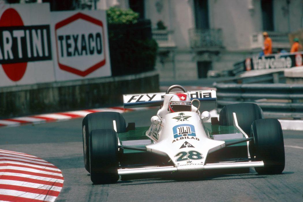 1979 Williams FW07 F-1 formula race racing wallpaper