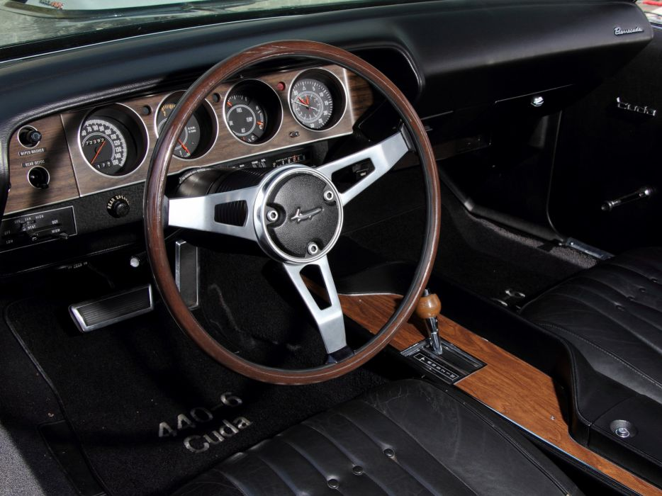 1970 Plymouth Cuda 440 BS23 barracuda mopar classic wallpaper