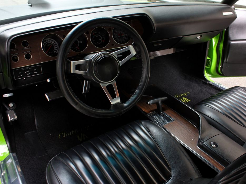1971 Dodge Challenger T-A mopar muscle classic wallpaper