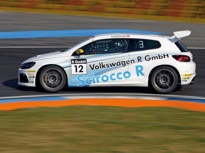 2010 Volkswagen Scirocco R-Cup CNG rally race racing wallpaper