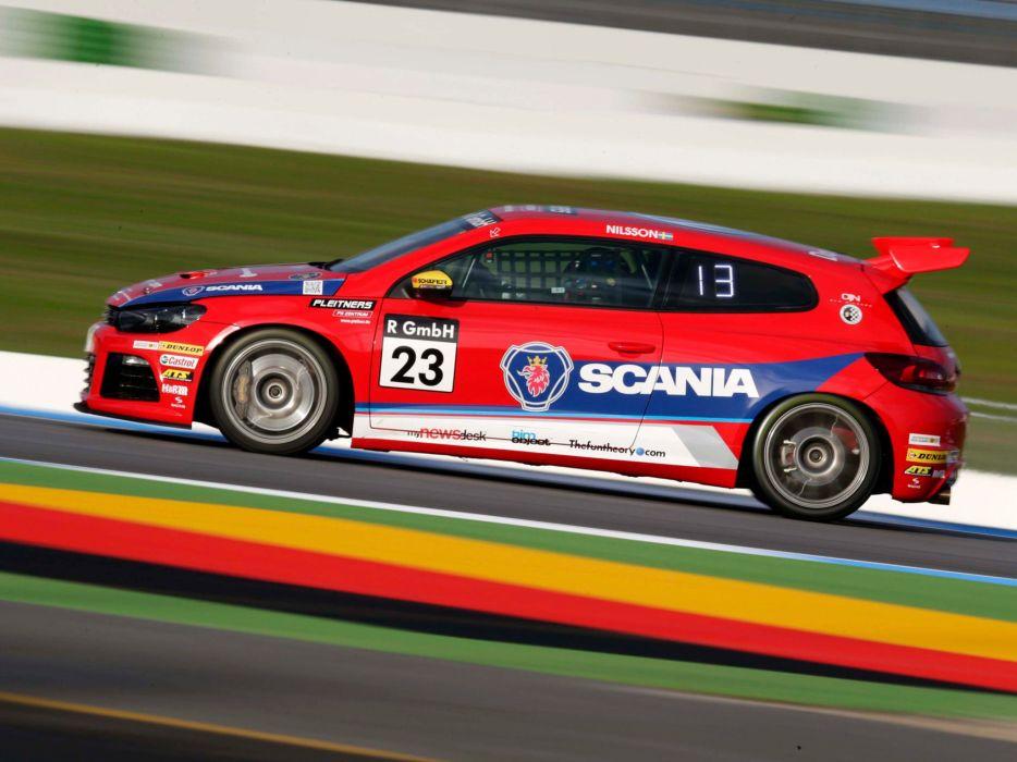 2010 Volkswagen Scirocco R-Cup CNG rally race racing wallpaper