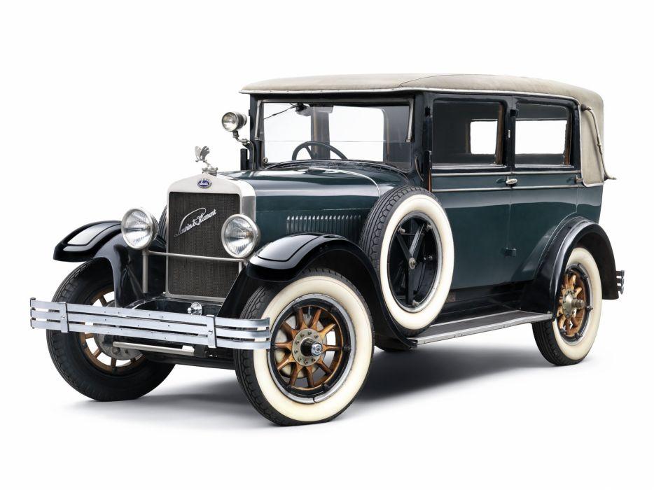 1925 Laurin Klement 110 R luxury vintage wallpaper