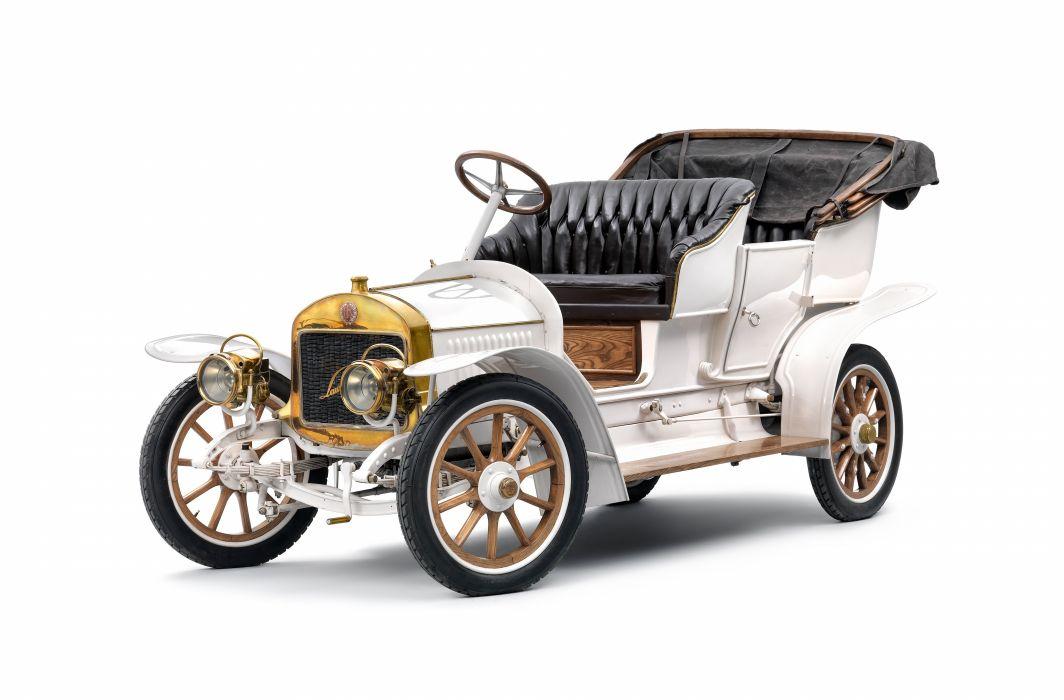 1909 Laurin Klement Model-G luxury vintage wallpaper