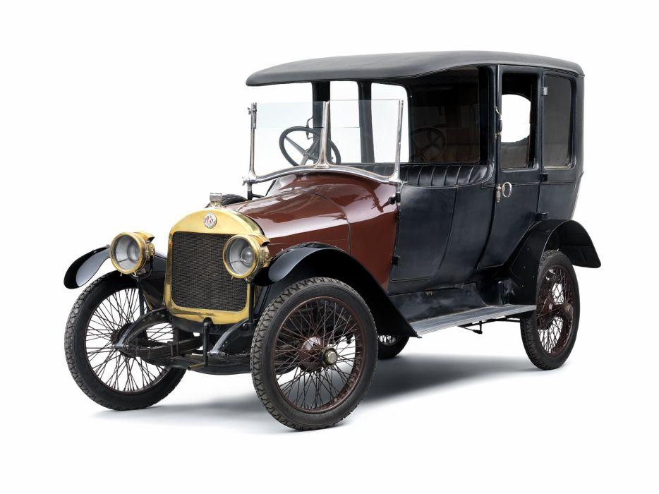 1914 Laurin Klement Model-Sg vintage luxury wallpaper