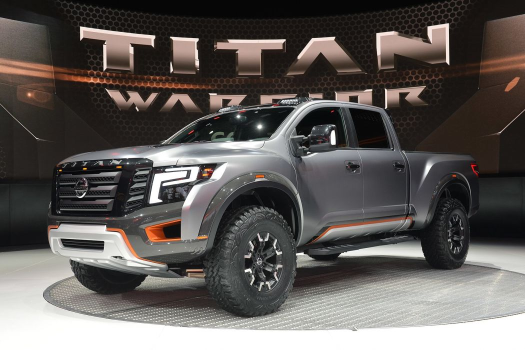 2016 Detroit Auto Show Nissan Titan Warrior Concept cars wallpaper