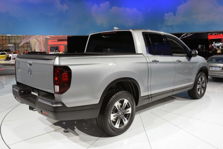2016 Detroit Auto Show Honda Ridgeline pickup cars wallpaper