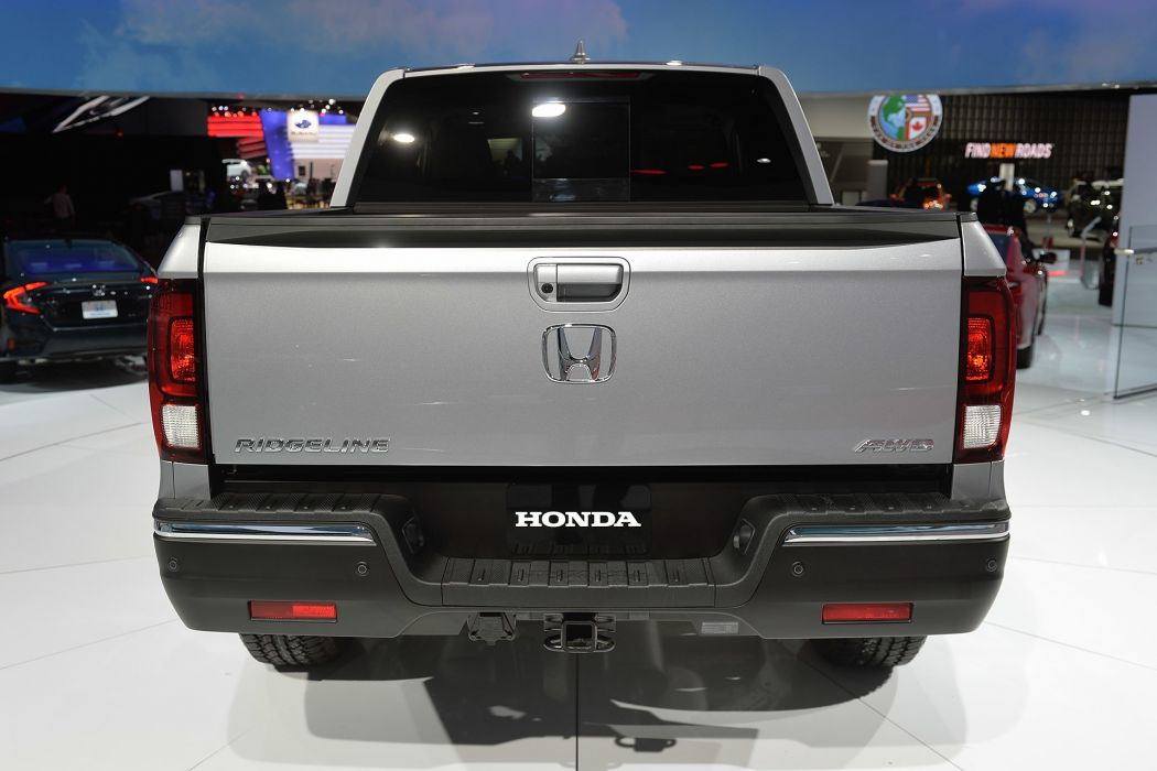 2016 Detroit Auto Show Honda Ridgeline pickup cars wallpaper