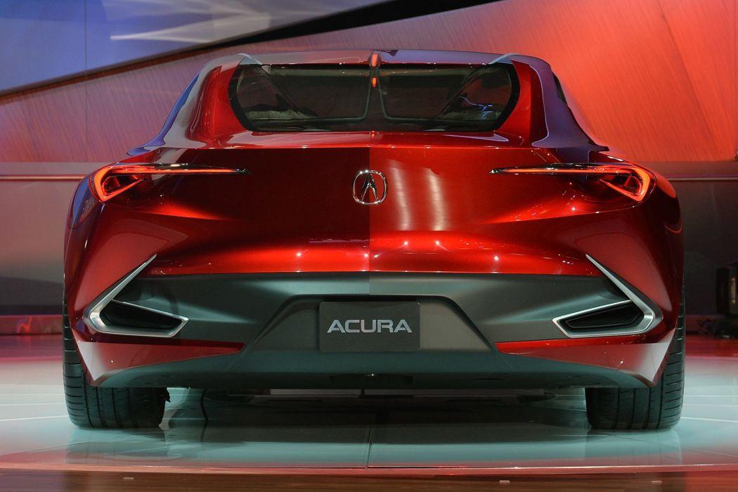 2016 Detroit Auto Show Acura Precision Concept cars wallpaper
