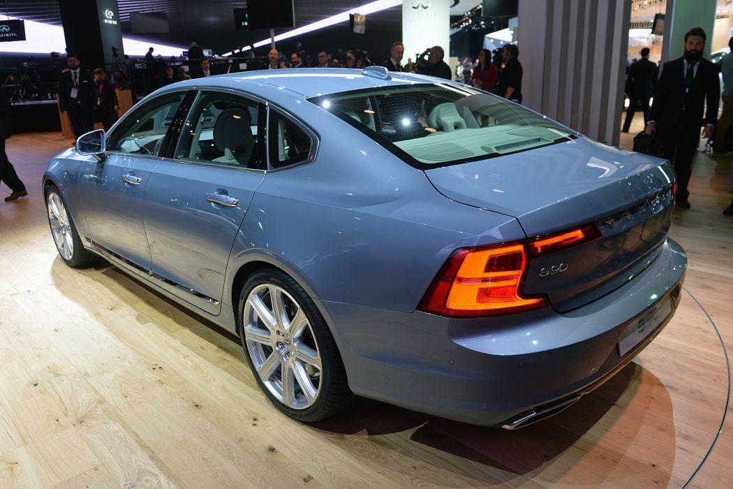 2016 Detroit Auto Show Volvo S90 sedan cars wallpaper