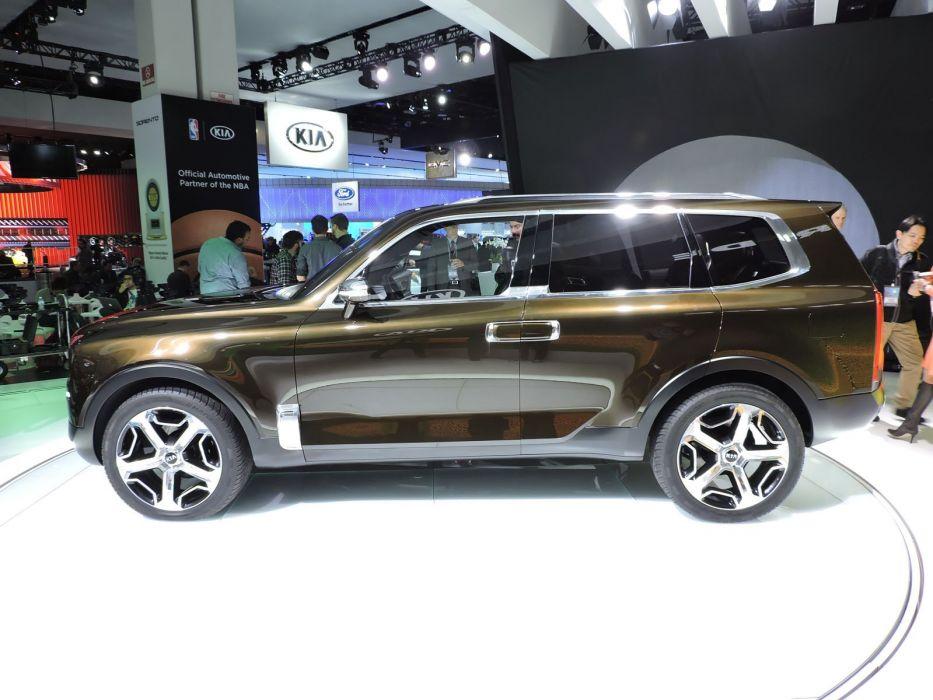 2016 Detroit Auto Show Kia Telluride Concept cars wallpaper
