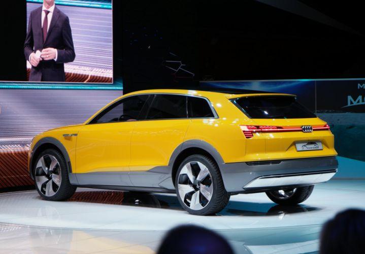 2016 Detroit Auto Show Audi H-Tron Concept cars wallpaper