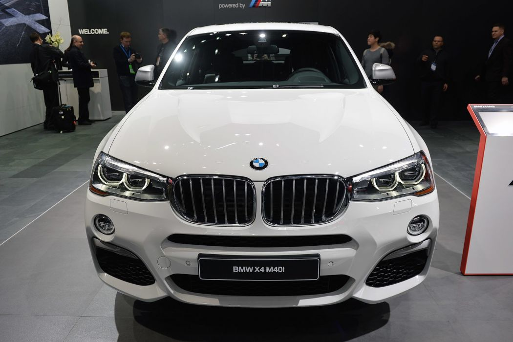 2016 Detroit Auto Show BMW X4 M40i suv cars wallpaper