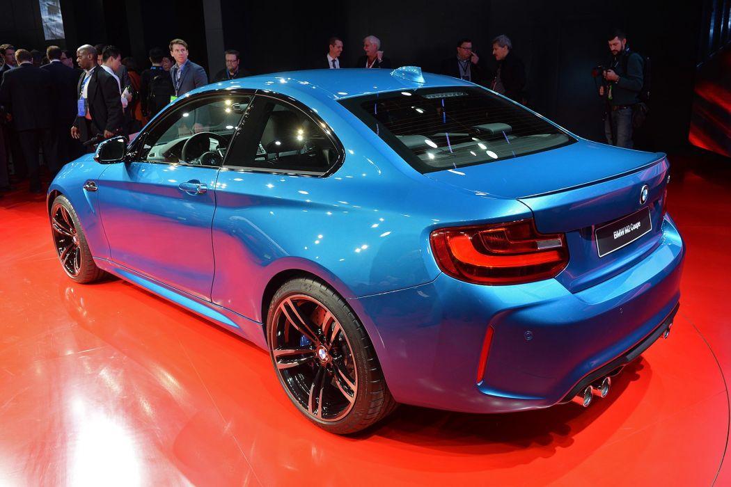 2016 Detroit Auto Show BMW M2 COUPE cars wallpaper