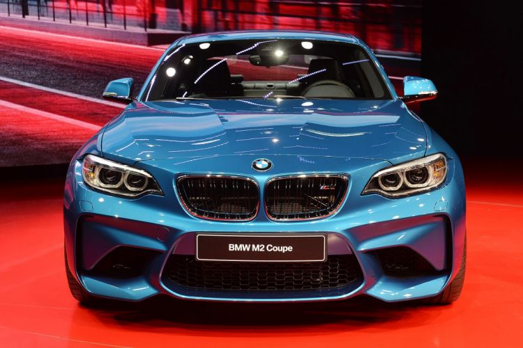 2016 Detroit Auto Show BMW M2 COUPE cars wallpaper