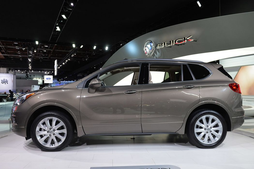 2016 Detroit Auto Show 2016 Buick Envision suv cars wallpaper