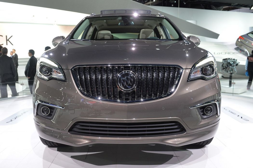 2016 Detroit Auto Show 2016 Buick Envision suv cars wallpaper