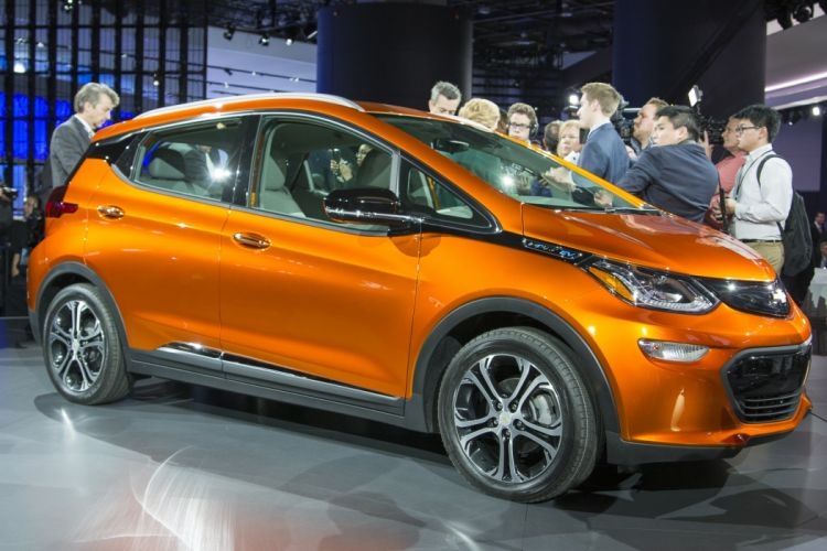 2016 Detroit Auto Show 2016 Chevy Bolt ev electric cars wallpaper