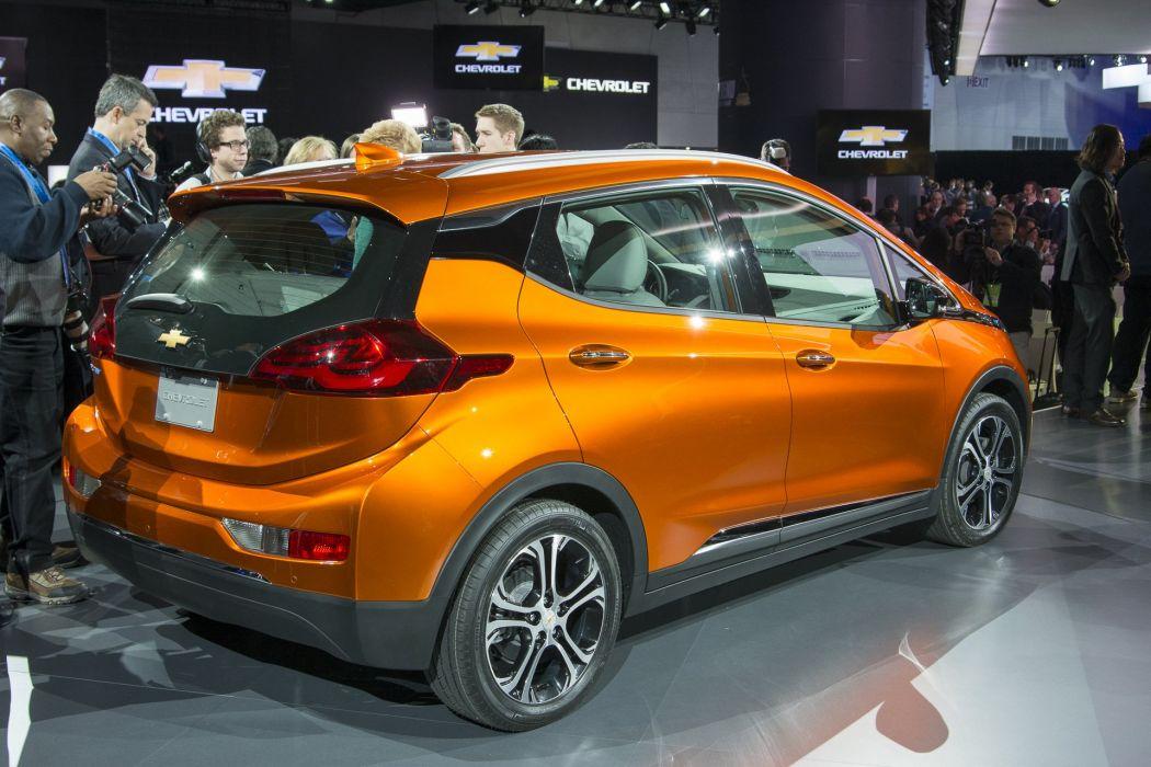 2016 Detroit Auto Show 2016 Chevy Bolt ev electric cars wallpaper