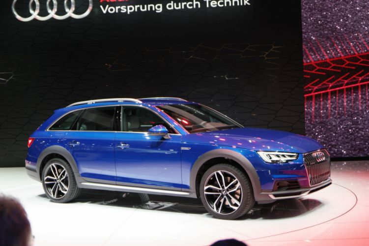 2016 Detroit Auto Show 2016 Audi A4 Allroad wagon cars wallpaper