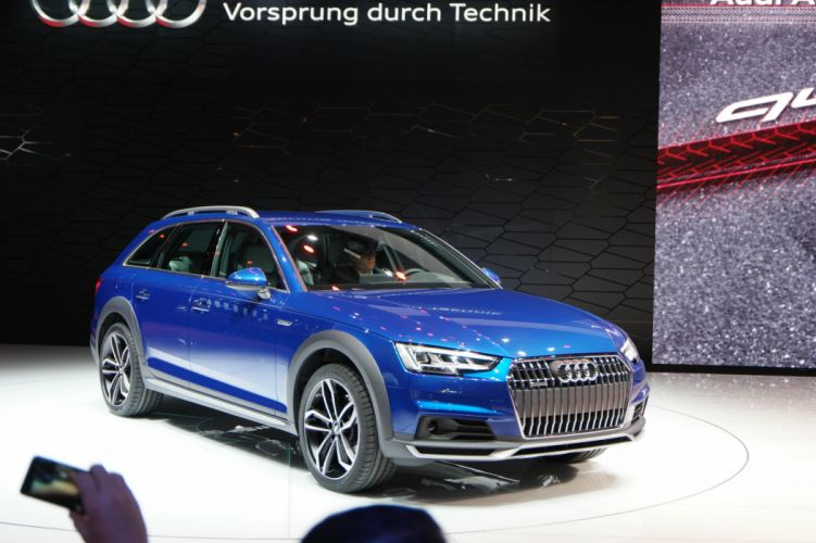 2016 Detroit Auto Show 2016 Audi A4 Allroad wagon cars wallpaper