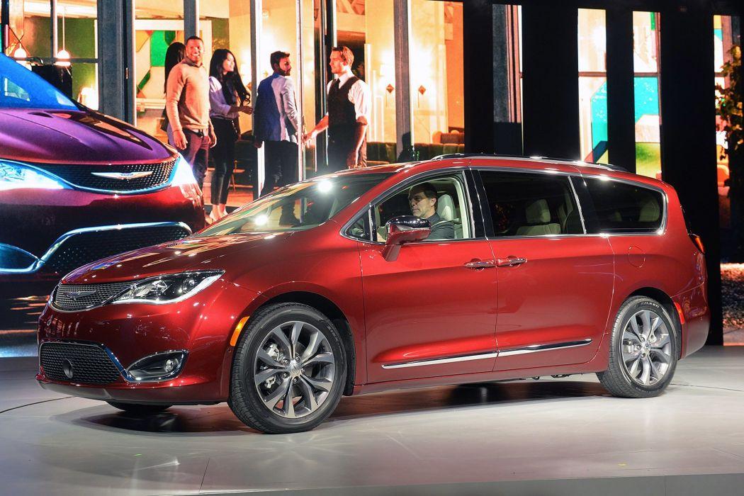 2016 Detroit Auto Show 2016 Chrysler Pacifica cars wallpaper