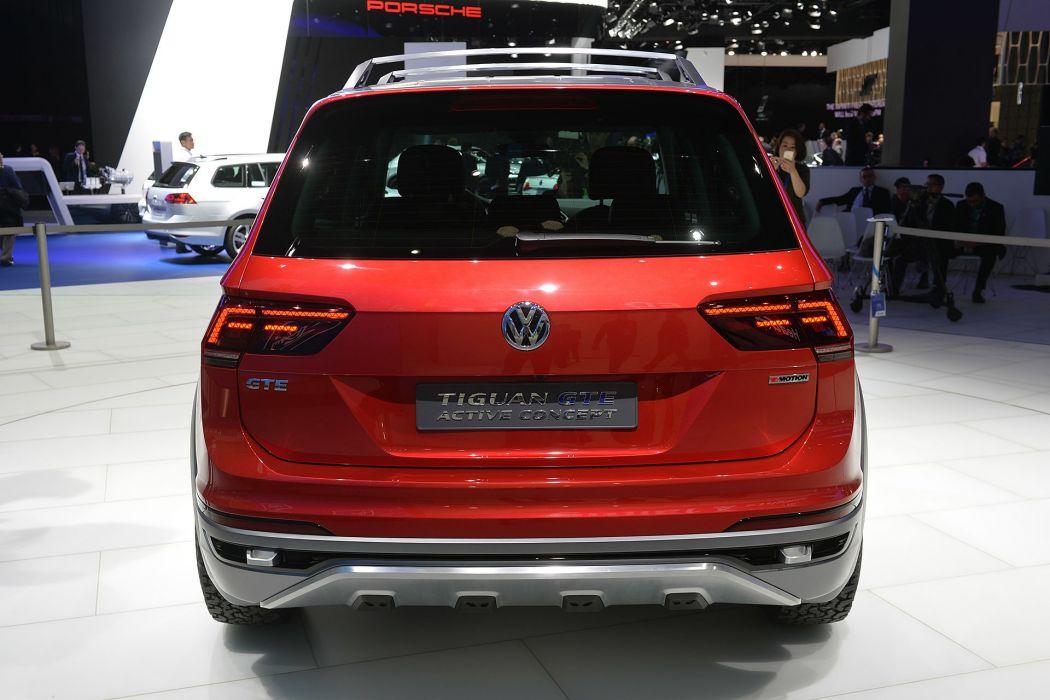 2016 Detroit Auto Show 2016 Volkswagen Tiguan GTE Active Concept cars wallpaper