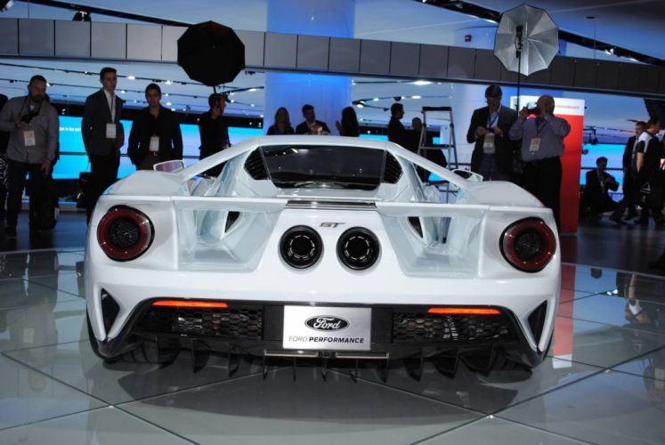 2016 Auto cars detroit show ford gt coupe wallpaper